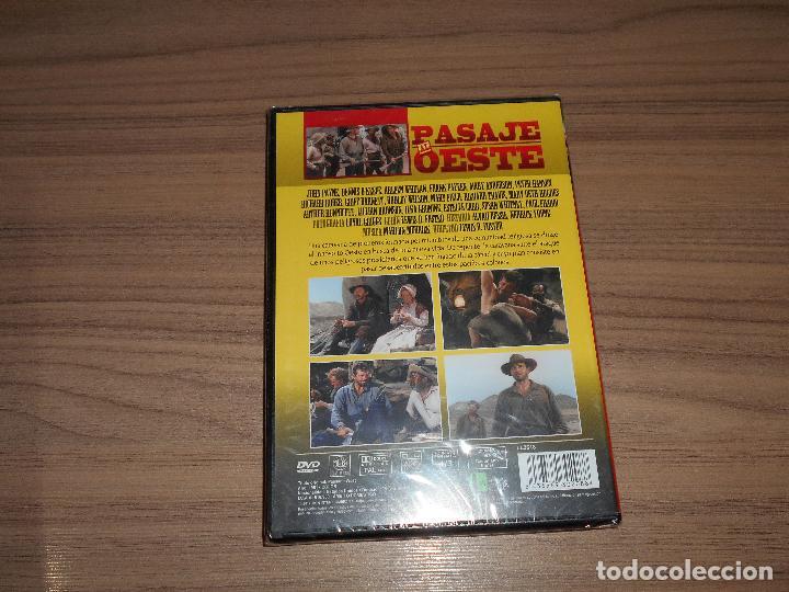 Cine: PASAJE al OESTE DVD John Payne NUEVA PRECINTADA - Foto 2 - 253416470