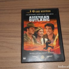 Cine: AMERICAN OUTLAWS DVD. Lote 114163975