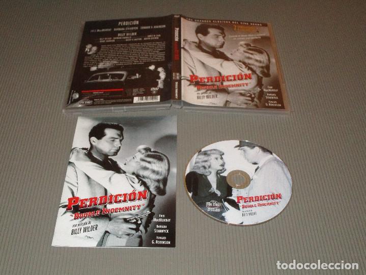 PERDICION ( DOUBLE INDEMNITY ) - DVD - EDICION SSDVD 1501 - BILLY WILDER - FRED MACMURRAY ... (Cine - Películas - DVD)