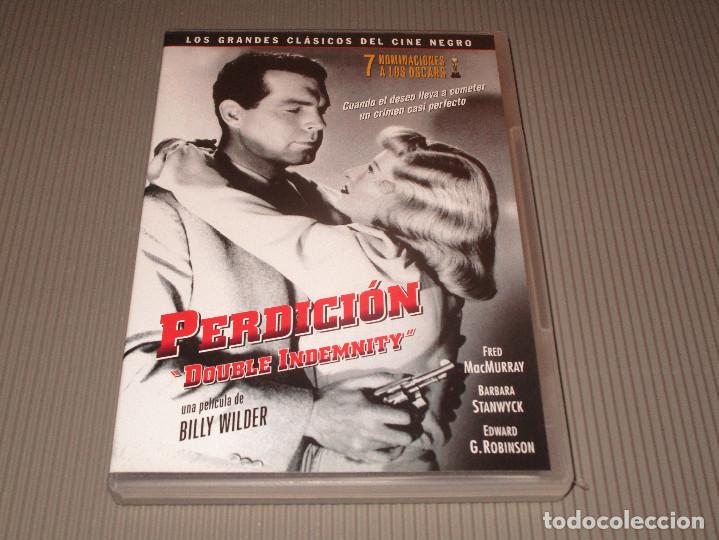 Cine: PERDICION ( DOUBLE INDEMNITY ) - DVD - EDICION SSDVD 1501 - BILLY WILDER - FRED MACMURRAY ... - Foto 2 - 114174903