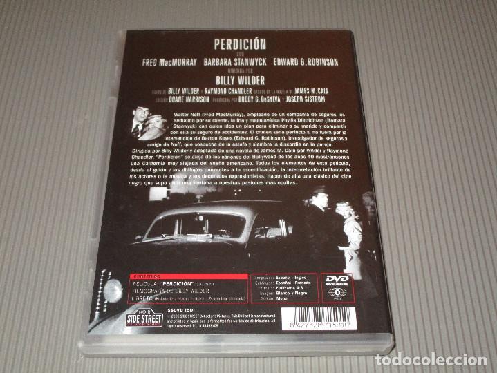 Cine: PERDICION ( DOUBLE INDEMNITY ) - DVD - EDICION SSDVD 1501 - BILLY WILDER - FRED MACMURRAY ... - Foto 3 - 114174903