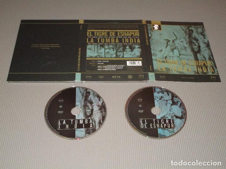 EL TIGRE DE ESNAPUR / LA TUMBA INDIA - 2 DVD - FRITZ LANG - ALEMAN CON SUBTITULOS AL CASTELLANO (Cine - Películas - DVD)