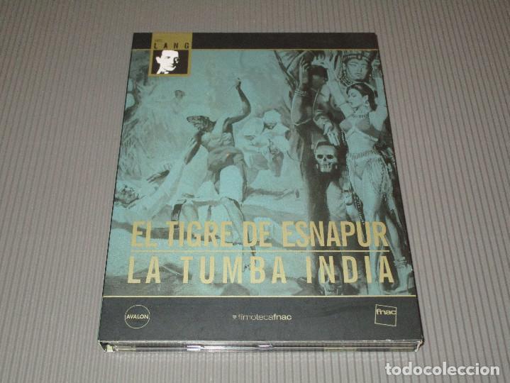 Cine: EL TIGRE DE ESNAPUR / LA TUMBA INDIA - 2 DVD - FRITZ LANG - ALEMAN CON SUBTITULOS AL CASTELLANO - Foto 4 - 114177259