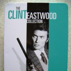 Cine: THE CLINT EASTWOOD COLLECTION...LATA CON 5 PELICULAS (6 DISCOS)...VER TITULOS. Lote 114272047
