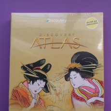 Cine: JAPON.ATLAS.DISCOVERY.DISCOVERY CHANNEL.DVD.2009.PRECINTADO.NUEVO.DOCUMENTAL.VIAJES.CULTURA. Lote 114331235