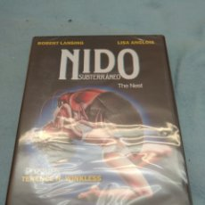 Cine: DVD. NIDO SUBTERRÁNEO. PRECINTADO.. Lote 114454696