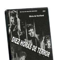 Cine: DIEZ HORAS DE TERROR - OLIVIA DE HAVILLAND, JAMES CAAN, JEFF COREY DVD NUEVO. Lote 115875036