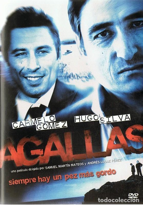 DVD AGALLAS CARMELO GÓMEZ & HUGO SILVA (Cine - Películas - DVD)