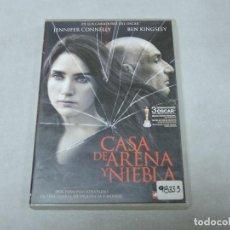 Cine: CASA DE ARENA Y NIEBLA DVD. Lote 114665243