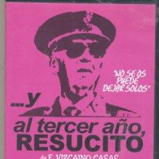 Cine: ...Y AL TERCER AÑO RESUCITÓ DVD: UNA COMEDIA...QUE CONCUERDA MUCHO CON LA REALIDAD.. Lote 114811999