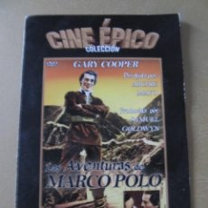 Cinéma: DVD LAS AVENTURAS DE MARCO POLO GARY COOPER SIGRID GURIE BASIL RATHBONE. Lote 114855359