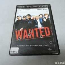 Cine: WANTED DVD. Lote 114906691