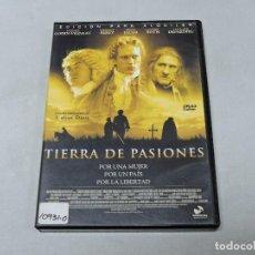 Cine: TIERRA DE PASIONES DVD. Lote 114919235