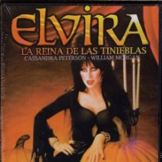 Cine: ELVIRA, LA REINA DE LAS TINIEBLAS DVD... CUIDADO CON SU BELLEZA EXTERNA... POR DENTRO ES UN DEMONIO. Lote 132937394
