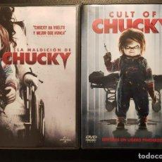Cine: LA SEMILLA DE CHUCKY Y LA MALDICION DE CHUCKY (PACK 2 PELÍCULAS). Lote 114931015