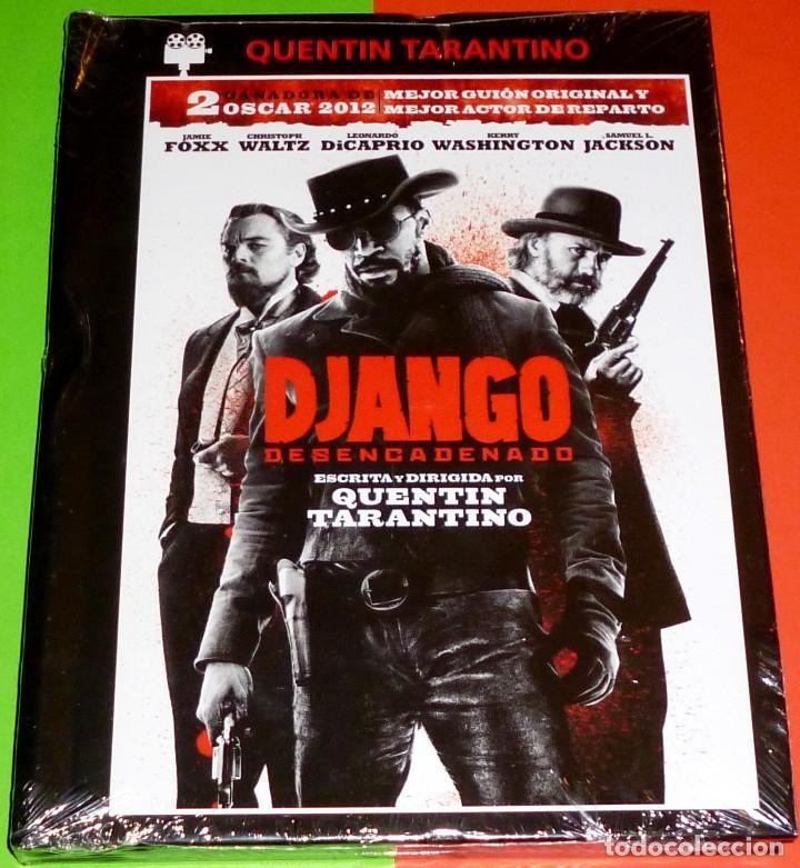 DJANGO DESENCADENADO / DJANGO UNCHAINED - DVD+LIBRO PRECINTADA (Cine - Películas - DVD)
