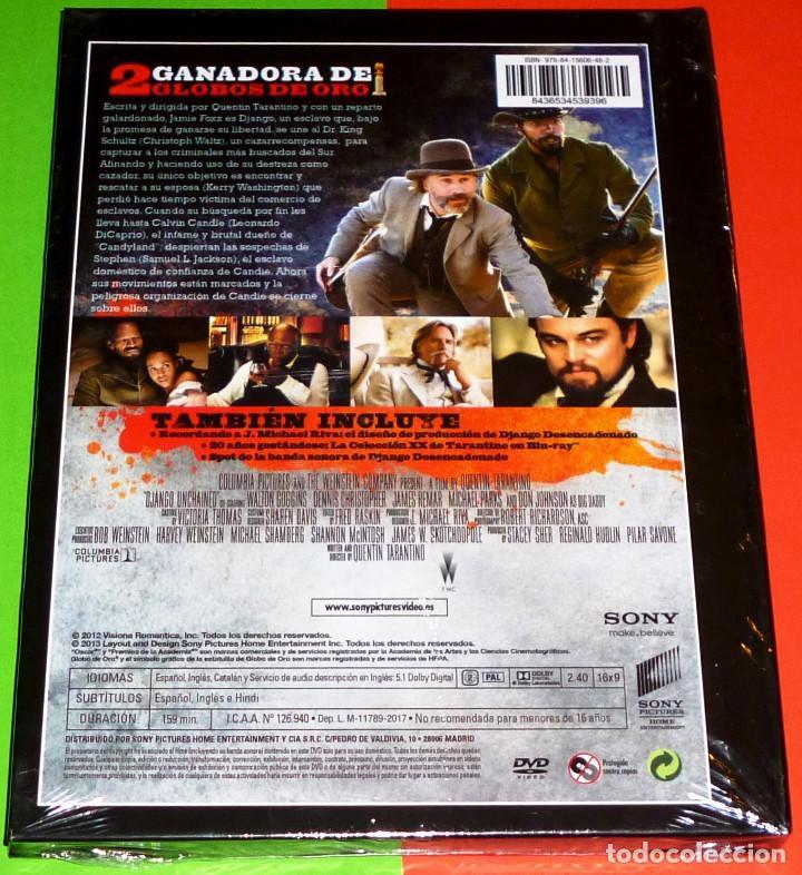 Cine: DJANGO DESENCADENADO / DJANGO UNCHAINED - DVD+LIBRO PRECINTADA - Foto 2 - 114937455