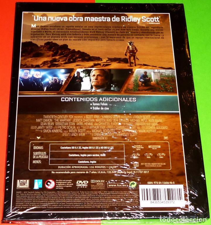Cine: MARTE Ridley Scott - DVD+LIBRO PRECINTADA - Foto 2 - 114938739