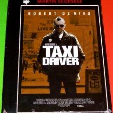Cine: TAXI DRIVER - DVD+LIBRO PRECINTADA. Lote 114938907