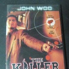 Cinéma: DVD THE KILLER EL ASESINO JOHN WOO CHOW YUN-FAT, DANNY LEE, SALLY YEH, CHU KONG. Lote 115031403
