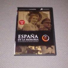 Cine: ESPAÑA EN LA MEMORIA. DVD 3. LA POSGUERRA.. Lote 115049727