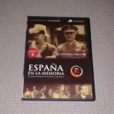 Cine: ESPAÑA EN LA MEMORIA. DVD 4. EL GENERAL FRANCO.. Lote 115052306