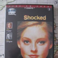 Cine: DVD SHOCKED . Lote 115086351
