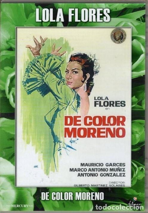 DE COLOR MORENO DVD (LOLA FLORES - DESCAT.) - .ENREDOS DE UNA PAREJA ARTISTICA EN TIERRAS LEJANAS (Cine - Películas - DVD)
