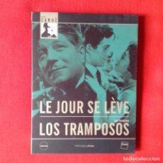 Cine: AMANECE (LE JOUR SE LÉVE) + LOS TRAMPOSOS. MARCEL CARNE. FILMOTECA FNAC. Lote 115172471