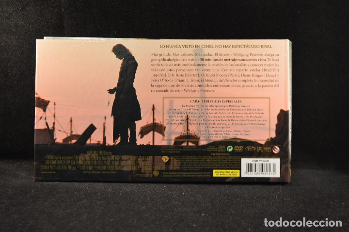 Cine: TROYA - EL MONTAJE DEL DIRECTOR - DVD - Foto 3 - 115174867