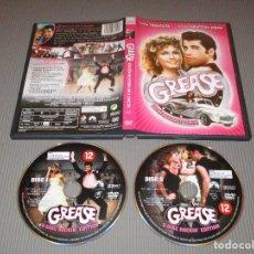 Cine: GREASE - 2 DVD - E. 82521 - PARAMOUNT - EDICION ROCKERA - HOHN TRAVOLTA - OLIVIA NEWTON-JOHN. Lote 115179711