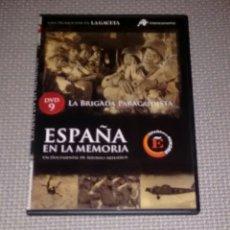 Cine: ESPAÑA EN LA MEMORIA. DVD 9. LA BRIGADA PARACAIDISTA.. Lote 115197540