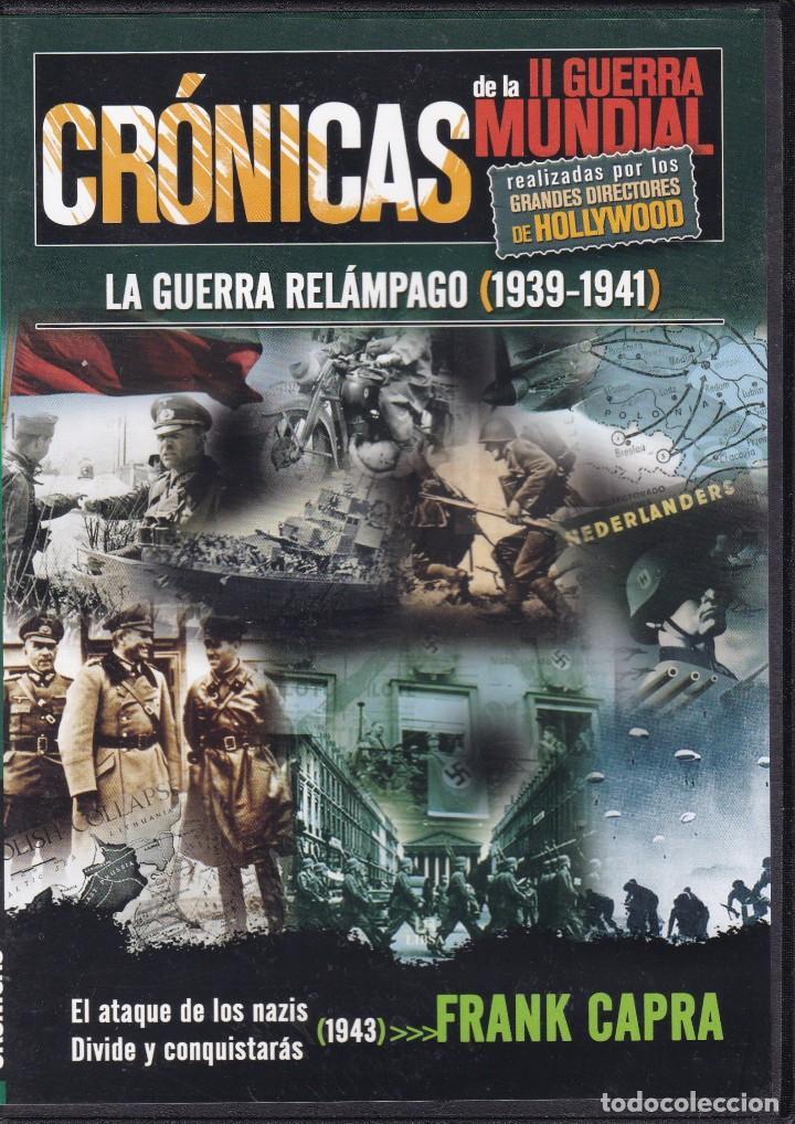 CINE II GUERRA MUNDIAL - CRÓNICAS - LA GUERRA RELÁMPAGO 1939 / 1941 (Cine - Películas - DVD)