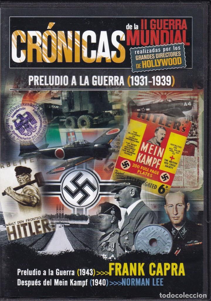 CINE II GUERRA MUNDIAL - CRÓNICAS - PRELUDIO A LA GUERRA 1931 / 1939 (Cine - Películas - DVD)