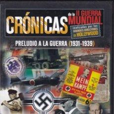 Cine: CINE II GUERRA MUNDIAL - CRÓNICAS - PRELUDIO A LA GUERRA 1931 / 1939. Lote 115242151