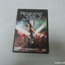 Cine: RESIDENT EVIL 2: APOCALIPSIS DVD. Lote 124989294