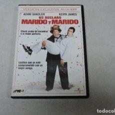Cine: OS DECLARO MARIDO Y MARIDO DVD. Lote 115335459