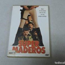Cine: SUPER MADEROS DVD. Lote 115339327