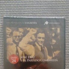 Cine: ESPAÑA EN LA MEMORIA. DVD24. JOSE DÍAZ Y EL PARTIDO COMUNISTA.. Lote 115381567