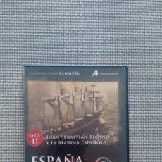 Cine: ESPAÑA EN LA MEMORIA. DVD11. JUAN SEBASTIÁN ELCANO Y LA MARINA ESPAÑOLA.. Lote 115381907
