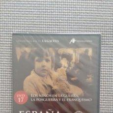 Cine: ESPAÑA EN LA MEMORIA. DVD17. LOS NIÑOS EN LA GUERRA. LA POSGUERRA Y EL FRANQUISMO.. Lote 115383070