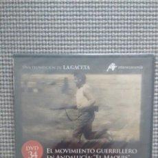 Cine: ESPAÑA EN LA MEMORIA. DVD34. EL MOVIMIENTO GUERRILLERO EN ANDALUCIA. EL MAQUIS.. Lote 115384019