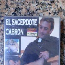 Cine: DVD CINE X A ESTRENAR EL SACERDOTE CABRON. Lote 115409406