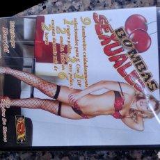 Cine: DVD CINE X A ESTRENAR BOMBAS SEXUALES. Lote 115409862