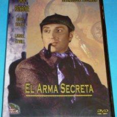 Cine: EL ARMA SECRETA / SHERLOCK HOLMES - BASIL RATHBONE - PRECINTADA. Lote 115410991