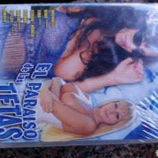 Cine: DVD CINE X A ESTRENAR EL PARAÍSO DE LAS TETAS. Lote 115411362