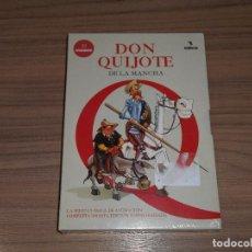 Cine: DON QUIJOTE DE LA MANCHA SERIE T.V. DIBUJOS ANIMADOS AÑOS 80 DVD 13 HORAS COMPLETA NUEVA PRECINTADA. Lote 255412980