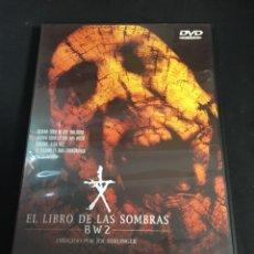 Cine: EL LIBRO DE LAS SOMBRAS ( DVD SEGUNDA MANO ). Lote 115494575