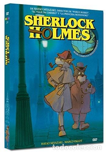 NUEVA / PACK MIYAZAKI SHERLOCK HOLMES (NUEVA EDICION - 4 DISCOS) - ANIMACIÓN (Cine - Películas - DVD)