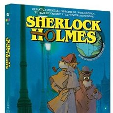 Cine - NUEVA / Pack Miyazaki Sherlock Holmes (Nueva Edicion - 4 Discos) - Animación - 115510607
